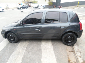 Clio 1.6 Rt 16v 2003 Cinza