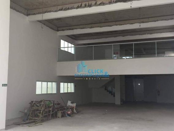 Loja Para Alugar, 400 M² Por R$ 14.000/mês - Aparecida - Santos/sp - Lo0065