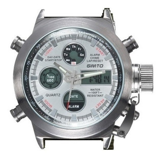 Reloj Gimto Sports Men Watch Formato Militar