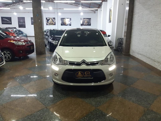 Citroen C3 1.6 Exclusive 16v Flex Aut. - 2014 ( Teto Solar )