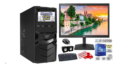 Imagen 1 de 4 de Computador Intel Core I7 10ma Gen 1tb+ssd 240/16gb Led 20 LG