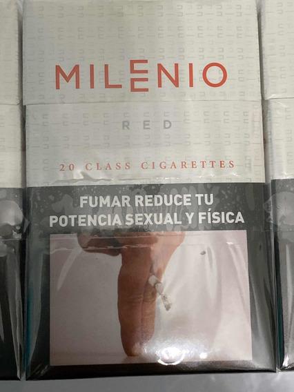 Cigarrillos Milenio Red Pack Por 10 Atados