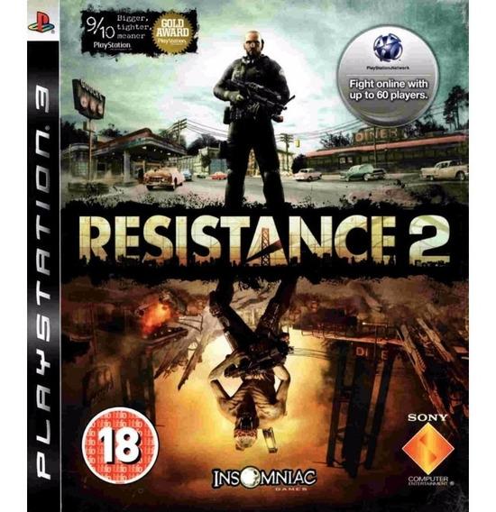 Jogo Ps3 Resistance 2 Original Usado Mídia Física