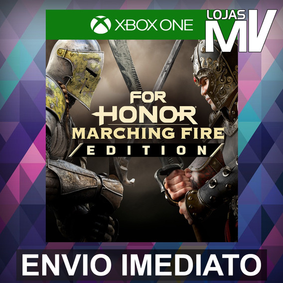 For Honor Marching Fire Edition - Xbox One Código 25 Dígitos