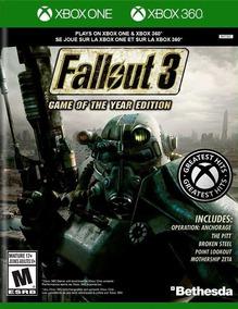 Fallout 3 Xbox 360 / Xone Mídia Física Lacrado