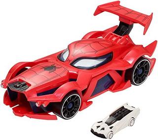 Hot Wheels Marvel Spiderman Webcar Launcher