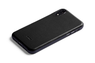 Bellroy Leather iPhone Xs Max Phone Funda - Black