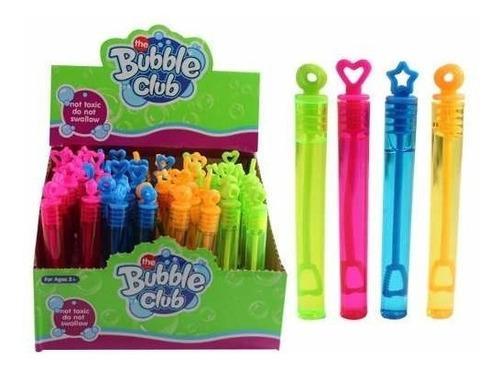 Imagen 1 de 10 de 50 Burbujero Tubo Gel Color Burbujas Boda Fiesta Evento Mini