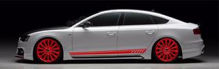 Adesivo Lateral Faixa Audi A1 A501