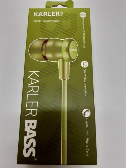 Audifonos Manos Libres Karler Bass