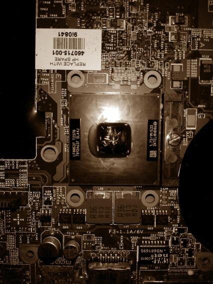 Placa Mae Com Processador Notebook Hp Pavilion Dv2000