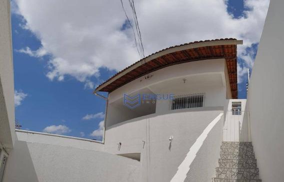 Casa 1° Andar (altos) Com 3 Dormitórios Para Alugar, 140 M² Por R$ 700/mês - Prefeito José Walter - Fortaleza/ce - Ca0895