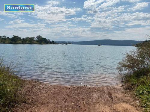 Chácara Próximo Ao Acesso Ao Lago Coruma 2 Dormitório Venda, 1300 M² Por R$ 150.000 - Lago Das Aroeiras Em Caldas Novas - Ch0002