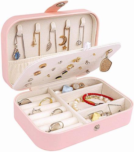 Imagen 1 de 10 de Caja Joyero Pequena,joyero De Viaje Cajas Para Jewelry
