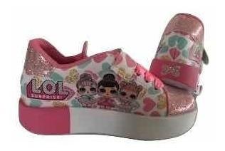 Zapatos Lol Surprise Con Luces Colombianos Para Niñas 15vrds