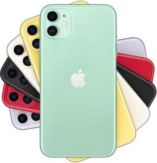 iPhone 11 64 Gb Verde Apple Desbloq Nota Garantia Semi Novo