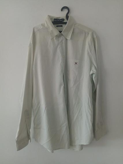 Camisa Polo Play Classic Fit G Manga Longa Social Masculina
