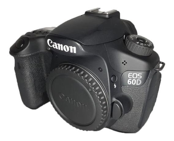 Câmera Canon 60d Seminova Perfeita Apenas 8024 Clicks + Case