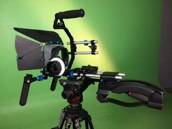 Estabilizador De Imagem + Follow Focus V2 - Matte Box E Etc