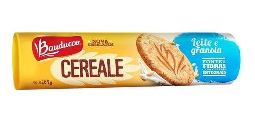 Biscoito Cereale Leite E Granola Bauducco 165g