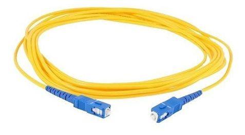 Imagem 1 de 1 de Cordão Óptico - Fibra Óptica - Sc/upc - 3 Metros Sm
