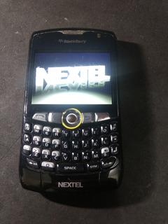 Lote 2 Celulares Nextel Blackberry 8350i Ler Descriçao 12/17