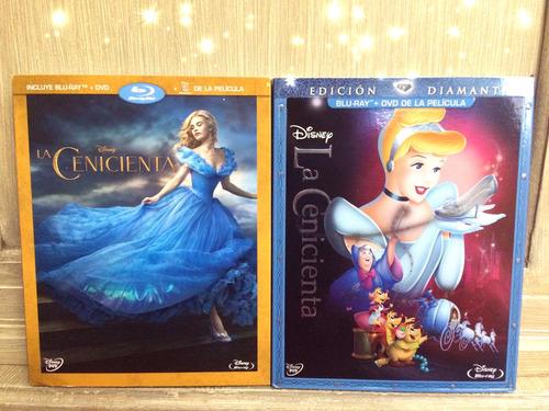 Disney La Cenicienta Blu-ray Colección (nueva) Princesas