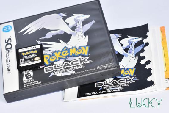 Pokémon Black Version - Nintendo Ds