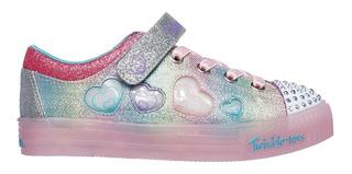 Zapatillas Niña Skechers Luces Twinkle Lite Heart Dancer