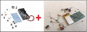Radio Fm - Kit Para Montar + Transmissor Fm - Kit De Peças