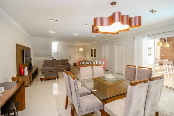 Casa Com 3 Dormitórios À Venda, 270 M² Por R$ 890.000 - Condomínio Belvedere Ii - Votorantim/sp - Ca0470