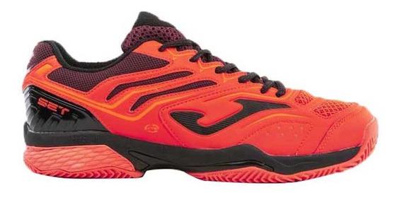 Zapatillas Joma Set V2 Clay Hombre Tenis-padel Naranja