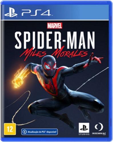 Spider-man Miles Morales Ps4 Mídia Física Novo Lançamento