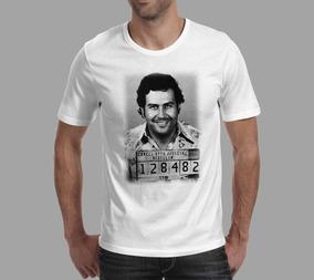 Camiseta Narcos - Branca