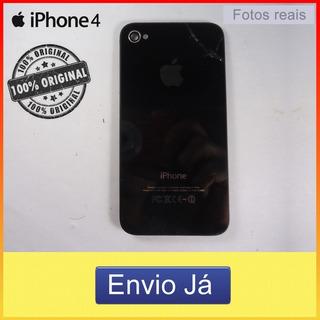 Lente Da Câmera E Flash Da Tampa Traseira iPhone 4 Frete10