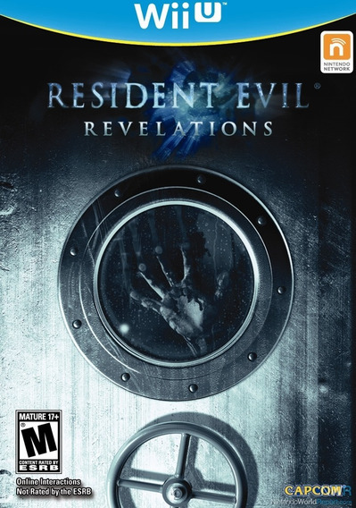 Jogo Nintendo Wiiu Resident Evil Revelations Novo Lacrado