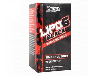 Lipo6 Black Nutrex Ultra Lipo 6 Termogenico Fat Burner Quemador Fitness Quemador (aprobado Anmat)