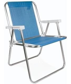 Sillon Playero Sannet 34 Mor Aluminio T Coversol Azul
