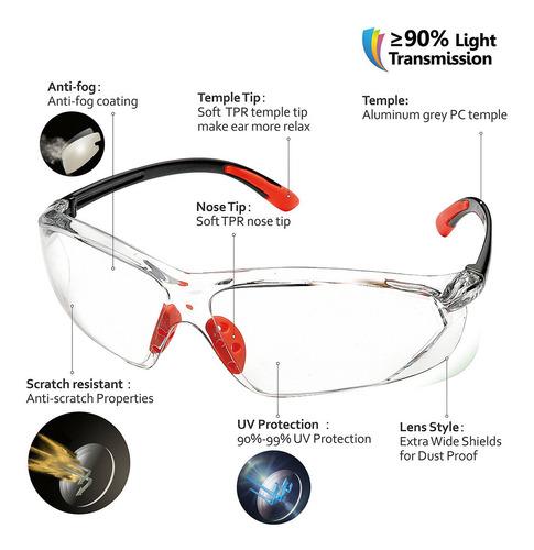 Homens/mulheres Anti-uv Pc Lente De Segurança Vidro Óculos L