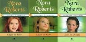 Livro Trilogia Da Fraternidade Nora Roberts