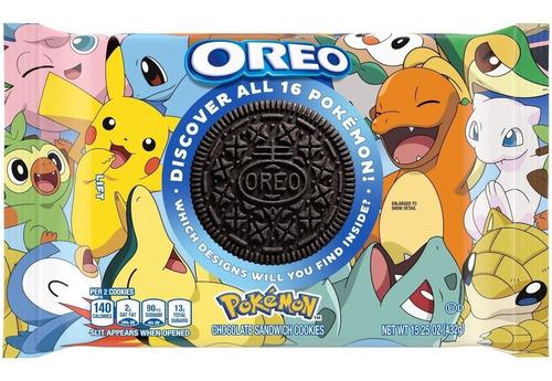 Imagen 1 de 2 de Galletas Oreo Pokémon X Oreo Limited Edition Cookies