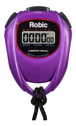 Robic 429-67991 - Cronómetro De Alta Presión, Color Morad