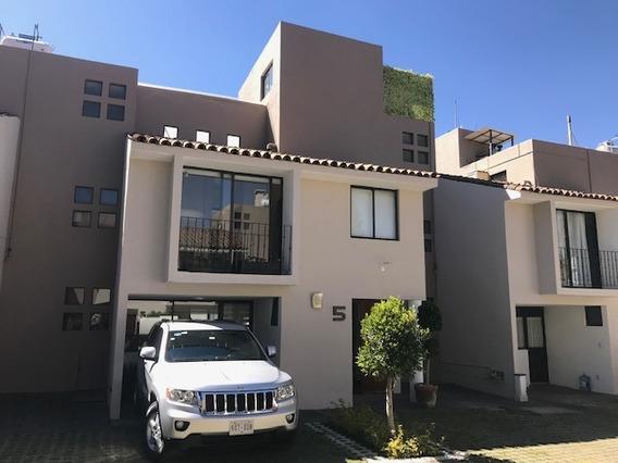 Contadero En Conjunto 5 Casas, 243 M2, Tres Estacionamientos