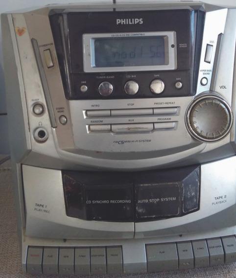 Philips Fwc5 +5 Portáteis Aiwa , Sony Etc (leia A Descrição)