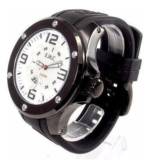 Relógio Masculino E.w.c Original Emt 11321-b