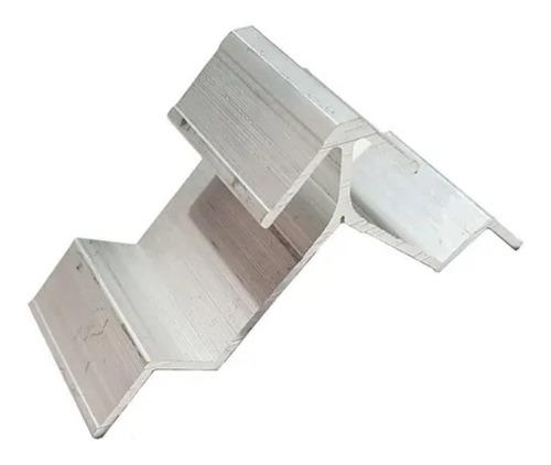 Imagen 1 de 8 de Escuadra Parte C Aluminio Marco Herrero X 100 Unidades