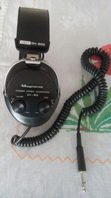 Fone De Ouvidos Vintage Magnavox Dh 900...funcionando..leia.