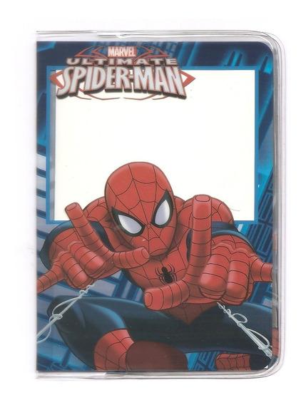Capa Para Passaporte Homem Aranha Marvel Vingadores @