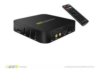 Smart Tv Box Android Netflix 8gb Hdmi Hd Usb X4 Conve Hi End