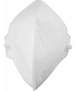 10 Mascara Pff2 S/ Valvulada Branco Mfq